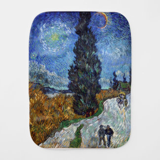 Pano De Boca Estrada secundária de Vincent van Gogh em Provence