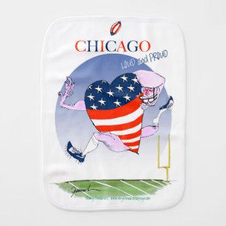 Pano De Boca Fernandes tony altos e orgulhosos de Chicago,