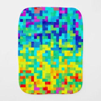 Pano De Boca Fundo sem emenda do teste padrão do pixel como um