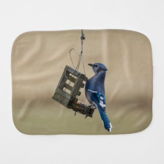 Pano De Boca Jay azul de balanço
