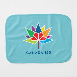Pano De Boca Logotipo do oficial de Canadá 150 - multicolorido