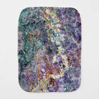 Pano De Boca mineral de pedra amethyst am da gema da rocha do