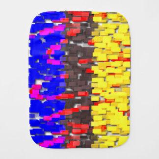 Pano De Boca Os blocos de apartamentos coloridos