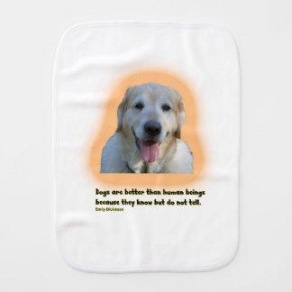 Pano De Boca Os cães são melhores do que seres humanos