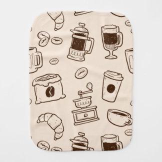 Pano De Boca Os feijões de café de Brown ilustraram o teste