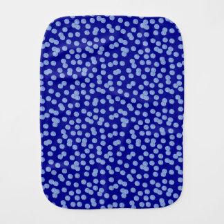 Pano De Boca Pano azul do Burp das bolinhas