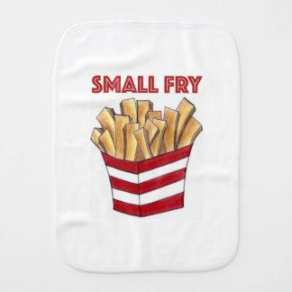 Pano De Boca Pano do Burp do bebê da comida das batatas fritas