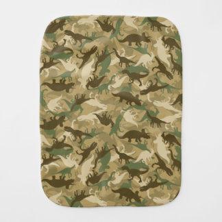 Pano De Boca Pano do Burp do dinossauro da camuflagem