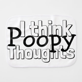 Pano De Boca Pensamentos de pensamento de Poopy