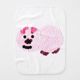 Pano De Boca Porco cor-de-rosa