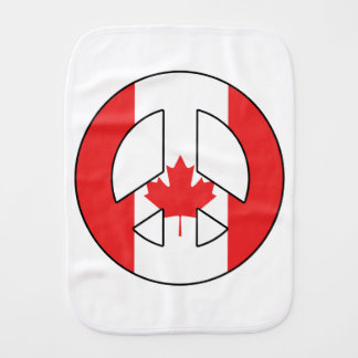 Pano De Boca Sinal de paz canadense