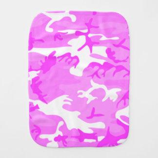 Pano De Boca Teste padrão cor-de-rosa bonito da camuflagem