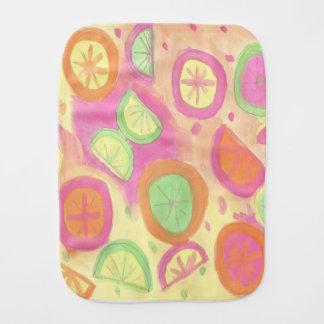Pano De Boca Teste padrão cor-de-rosa da limonada