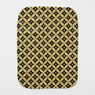 Pano De Boca Teste padrão de bolinhas elegante do círculo do