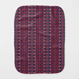 Pano De Boca Teste padrão floral étnico abstrato colorido da