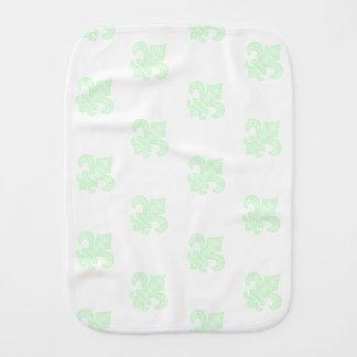 Pano De Boca Verde da hortelã de pano do Burp do bebê do bébé™