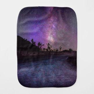 Pano De Boca Via Láctea do parque nacional de árvore de Joshua