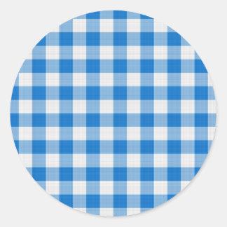 pano de mesa azul adesivo