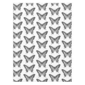 Pano de mesa do teste padrão de borboleta toalha de mesa