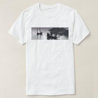 Panorama da angra do pirata camiseta