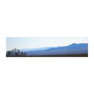 Panorama da montanha de Nevada Impressão De Canvas Envolvida