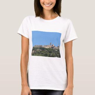 Panorama da vila de Volterra, província de Pisa Camiseta