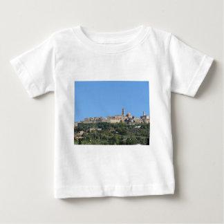 Panorama da vila de Volterra, província de Pisa Camiseta Para Bebê