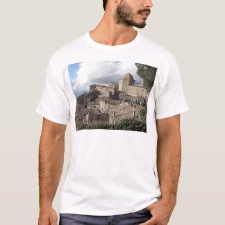 Panorama da vila de Volterra, Toscânia, Italia Camiseta