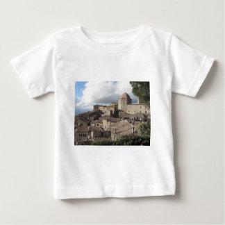 Panorama da vila de Volterra, Toscânia, Italia Camiseta Para Bebê