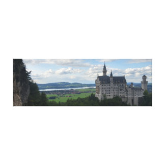 Panorama das canvas de Schloss Neuschwanstein
