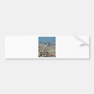 Panorama de Nápoles Adesivo De Para-choque