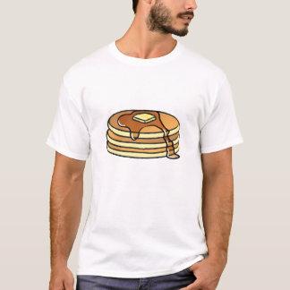 Panquecas - camisa do T dos homens