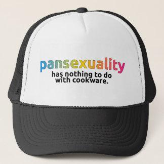 """""""Pansexuality não não tem nada fazer com o boné do"""