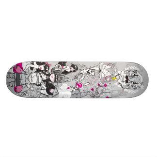 Panteão Shape De Skate 21,6cm