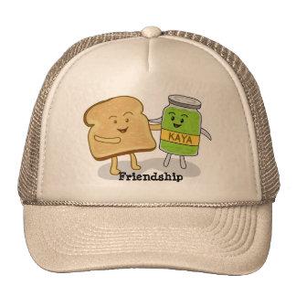 Pão da amizade e chapéu de Kaya Boné
