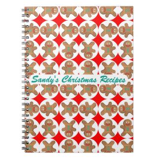 Pão-de-espécie feliz livro de receitas cadernos espiral