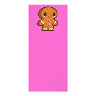 pão-de-espécie han do biscoito do gingerman 10.16 x 22.86cm panfleto
