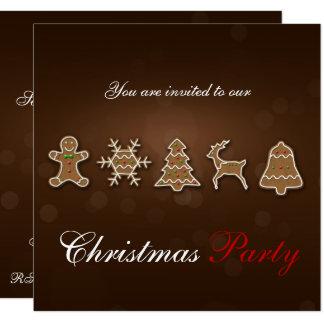 Pão-de-espécie nobre do Natal - convite de festas