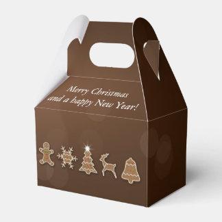 Pão-de-espécie nobre do Natal - frontão da caixa