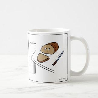 Pão irónico - caneca de café