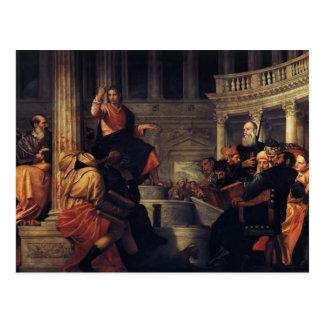 Paolo Veronese- Jesus entre os doutores Cartões Postais