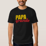 Papá grandioso - pai grande t-shirt