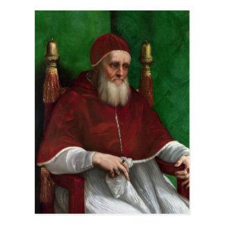 Papa Julius II pelo cartão de Raphael