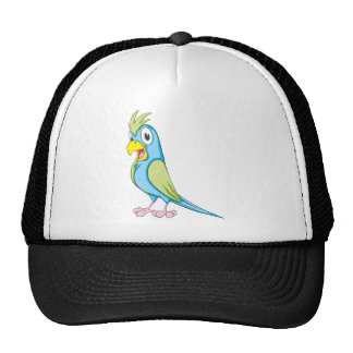Papagaio colorido feito sob encomenda bones