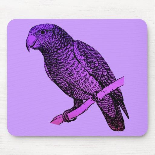 Papagaio roxo mousepad