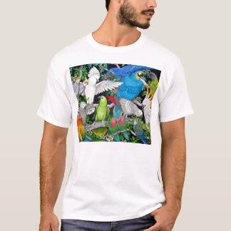 Papagaios da camisa do mundo T