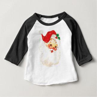 Papai Noel #2 Camiseta Para Bebê