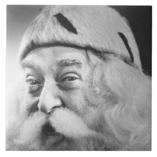 Papai Noel Azulejo Quadrado Grande