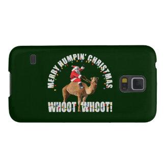Papai noel & camelo alegres do Natal de Humpin Capinhas Galaxy S5