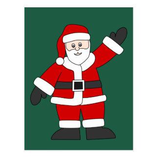 Papai Noel Cartão Postal